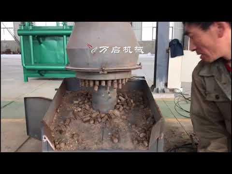 2018 Waste paper briquette machine/straw biomass briquette machine with WANQI MACHINERY