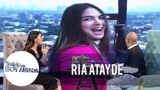 TWBA: Why Ria's mom scolded her for doing a TV series