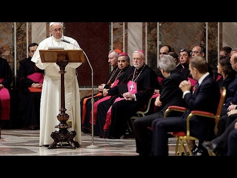 Pope tells EU leaders not to forget founding values of bloc
