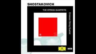 Emerson String Quartet: Shostakovich, Op. 144 No. 15 in E flat minor (1974)