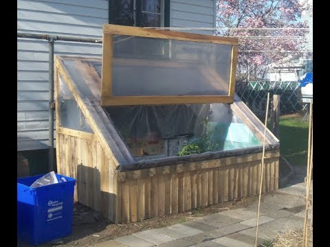 diy how i sided my cold frame made from pallets for free