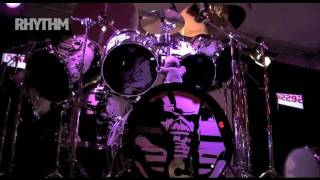 Time lapse of Nicko McBrain