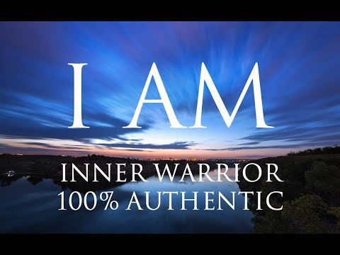 I AM Affirmations ➤ Align With Your Inner Warrior | Be 100% Authentic | Solfeggio 852 & 963 Hz ⚛