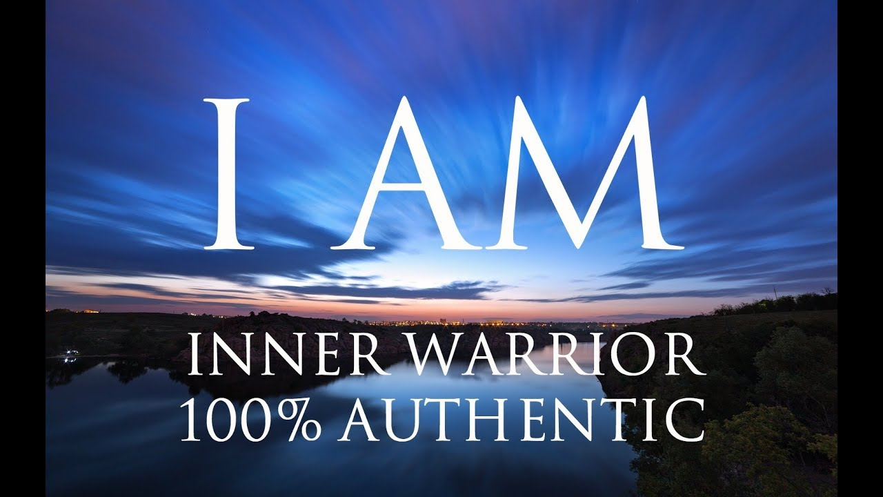 I AM Affirmations ➤ Align With Your Inner Warrior   Be 100% Authentic    Solfeggio 852 & 963 Hz ⚛