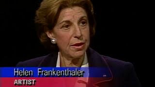 Helen Frankenthaler interview (1993)
