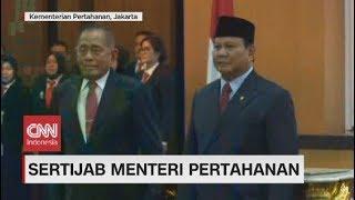 Sertijab Menteri Pertahanan Prabowo