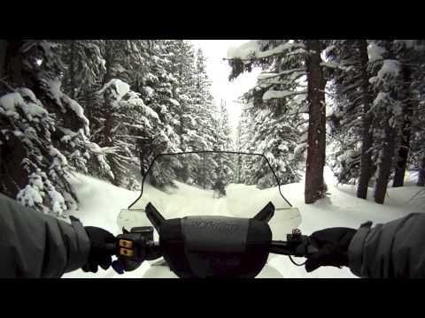 Snowmobiling Winter Park Colorado