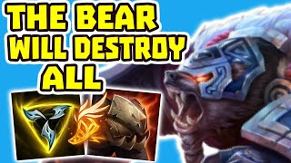 THE BEAR WILL GET YOU!! Volibear Jungle - League of Legends
