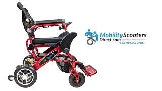 Geo Cruiser Travel Power Wheelchair
