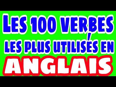 Les 100 Verbes Anglais Les Plus Utilises Youtube