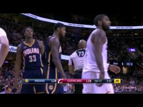 Paul George Scores 19 Straight in 2 Overtimes!