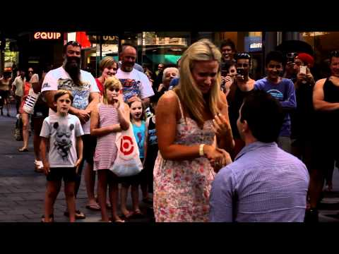 Best Surprise Proposal in Rundle Mall