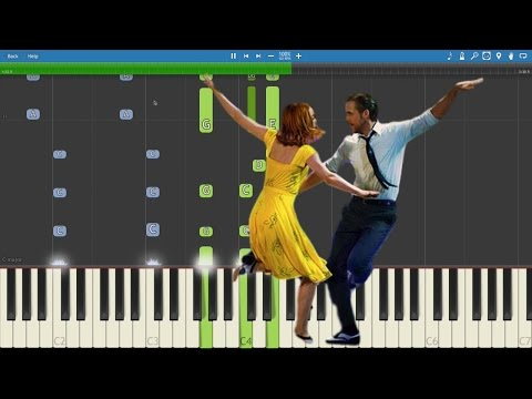 How to play City Of Stars on piano - La La Land - Piano Tutorial / Lesson