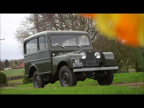 1950 Land Rover Series I Station Wagon Coachwork by Tickford- The Restoration Show Sale