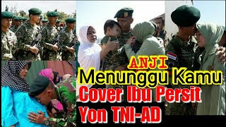 ANJI-Menunggu Kamu (Lyric Video) Ost Ibu Persit YON TNI-AD MP3