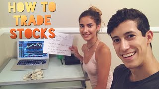 Teaching My Little Sister How To Trade Stocks Like A Pro | Penny Stock Investor