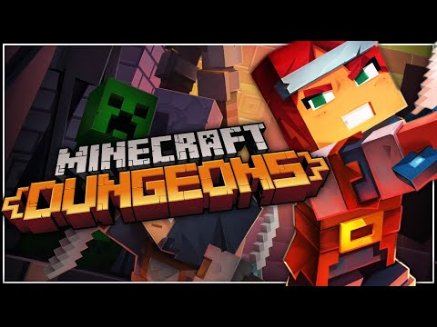 NOSTALGIA TRIP - Minecraft Dungeons Gameplay First Look [PC Let's Play]