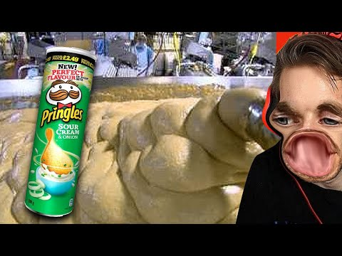 How Pringles Is Made (Shocking) (HowItsMade #1)