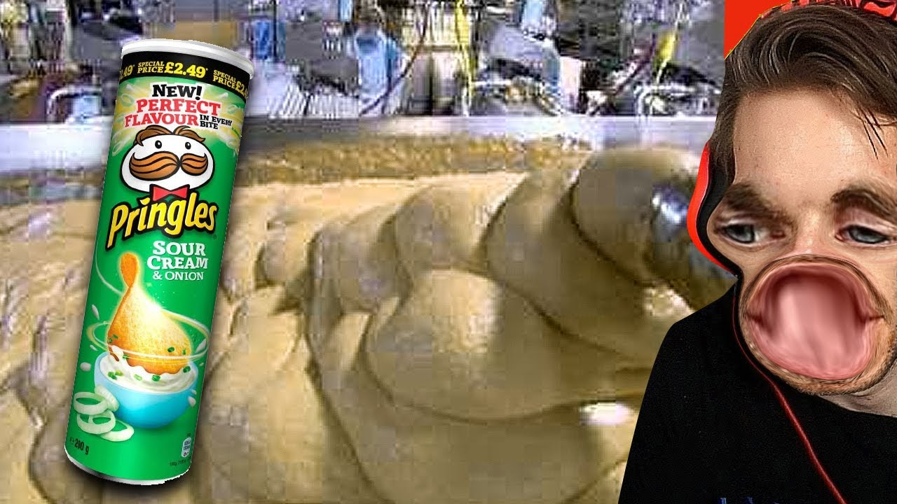 How Pringles Is Made (Shocking)