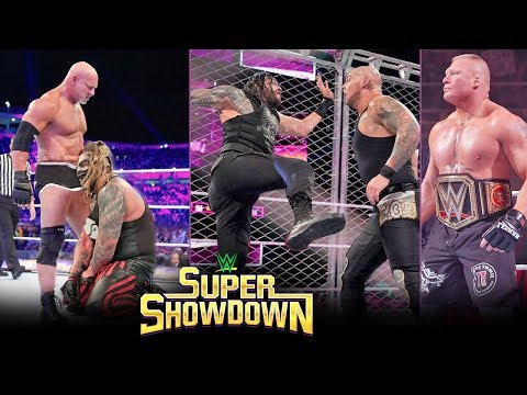WWE Super Showdown 2020 - WINNERS, SURPRISES & Full Results | Goldberg Vs Fiend Predictions Matches