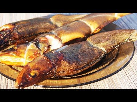 Как правильно вкусно коптить рыбу. Судак  горячего копчение