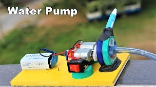 vuclip Making a simple water pump using normal DC Motor