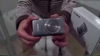 Unboxing: CANON POWERSHOT ELPH 160.