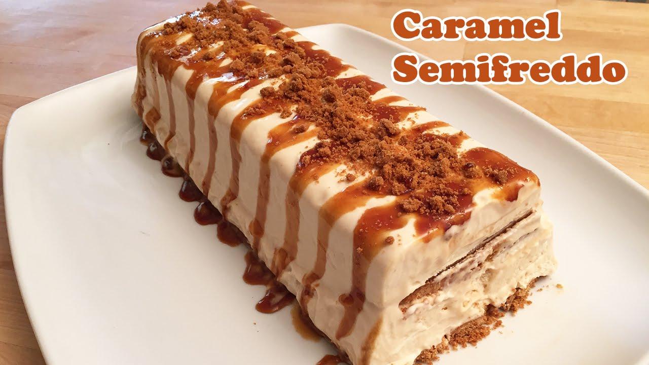 Salted Caramel Semifreddo Recipe