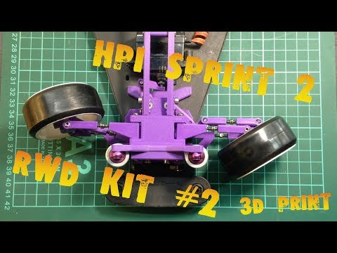 HPI Sprint 2 RWD KIT #2 3D Print