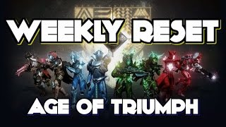 Destiny Weekly Reset March 28 2017 AGE OF TRIUMPH Prep & What to do FIRST