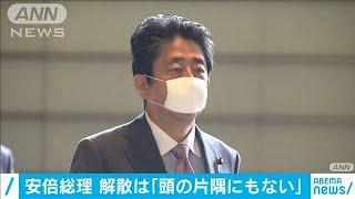 安倍総理 解散総選挙は「頭の片隅にもない」(20/06/24)