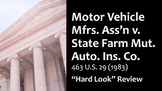 Motor Vehicle Mfrs. Ass'n v. State Farm Mut. Auto. Ins. Co.