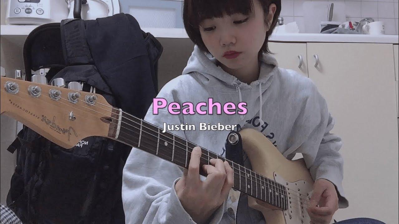 Justin Bieber - Peaches (guitar cover)