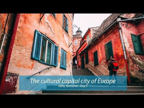 Sibiu, Romania - The cultural capital city of Europe