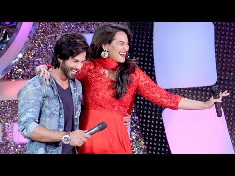 Sonakshi Sinha gets hurt, R Rajkumar Shahid Kapoor lends support on Dance India Dance 4   DID 4