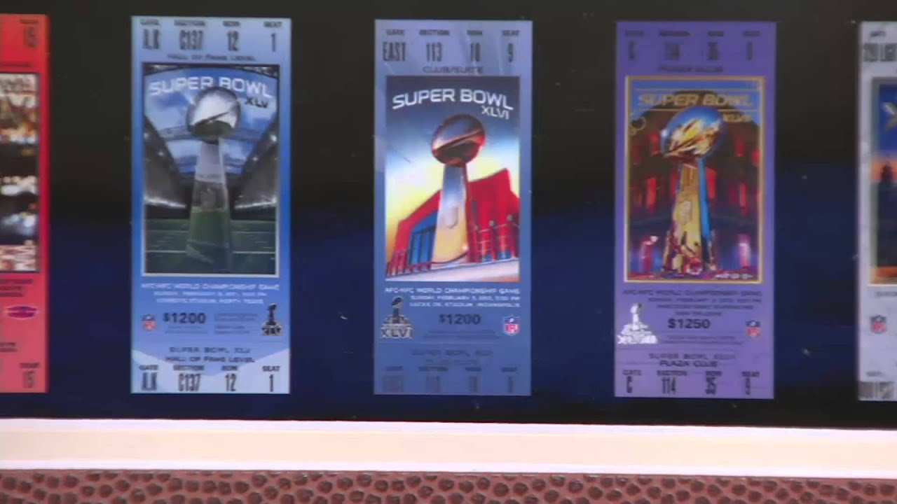 super bowl tickets frame with minted coins on qvc youtube