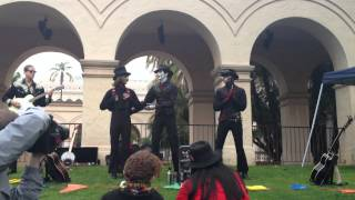Steam Powered Giraffe shatters your childhood dreams