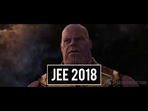 The Road To IIT | When JEE 2018 meets Avengers Infinity War