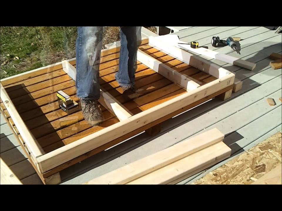 & 2-Shed Wall Framing - How to Build a Generator Enclosure - YouTube