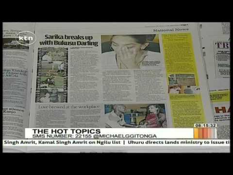 Sarika Breaks Up With Bukusu Darling