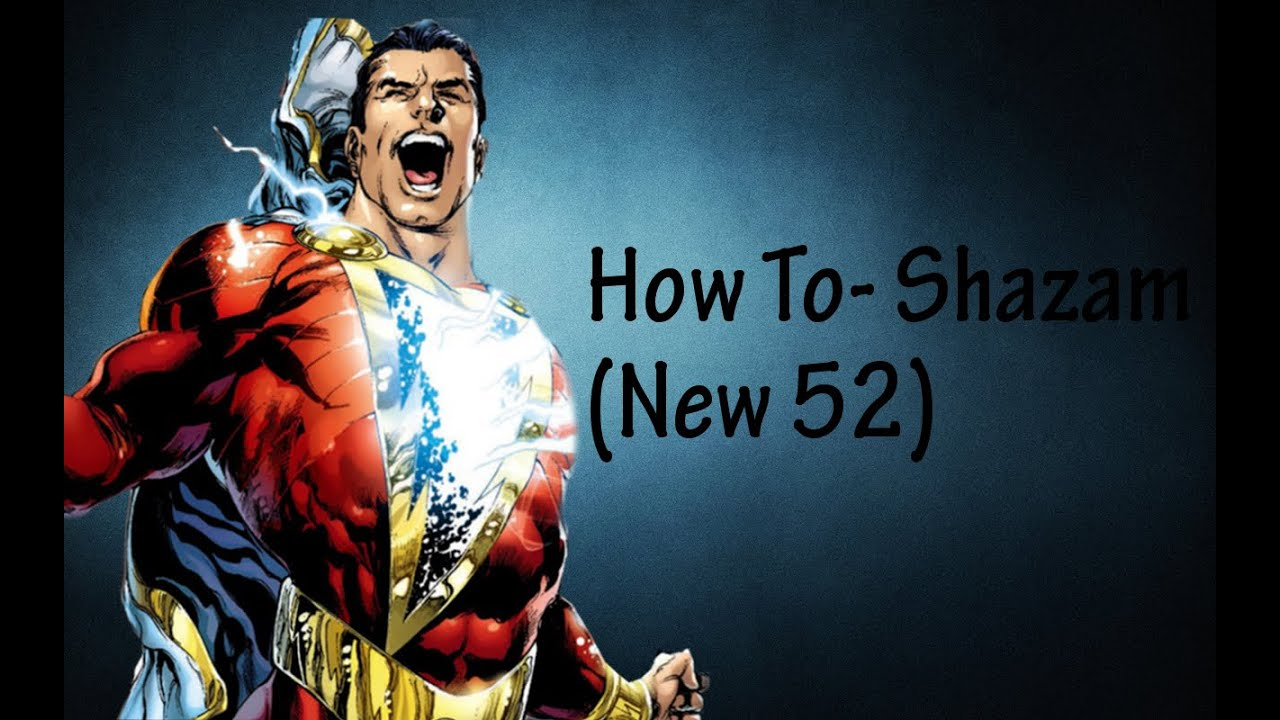 Shazam New 52 DCUO Character Creation