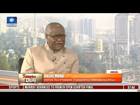 Magnitude Of Corruption In Africa Is Alarming - Akere Muna Pt 1