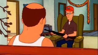 Dale Gribble has Bill Dauterive on suicide watch