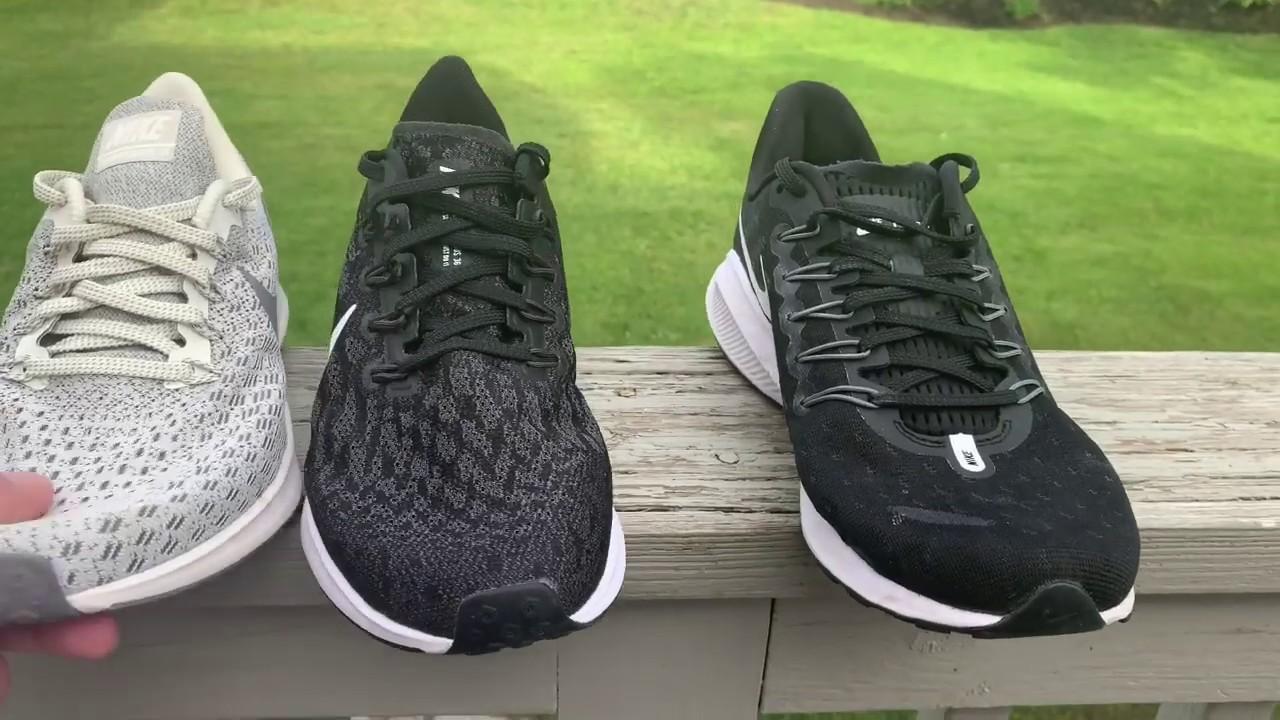 70fbe773c0 Nike Zoom Pegasus 36 Initial Runs Review. Comparisons to Pegasus 35 &  Vomero 14