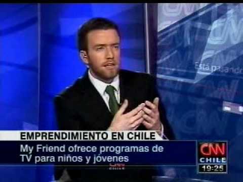 Emprendedores Made in Chile- Entrevista CNN Jose Francisco Garcia.wmv