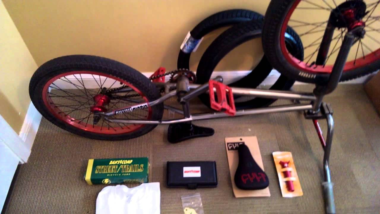Bmx Parts Dan S Comp Bmx Parts Unboxing