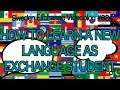 HOW TO LEARN A NEW LANGUAGE AS EXCHANGE STUDENT | Sweden Exchange Videoblog #08