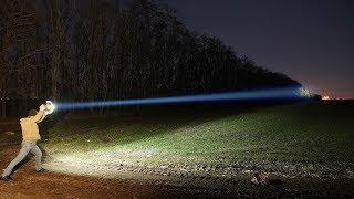 Прожектор на базе миски из ашана