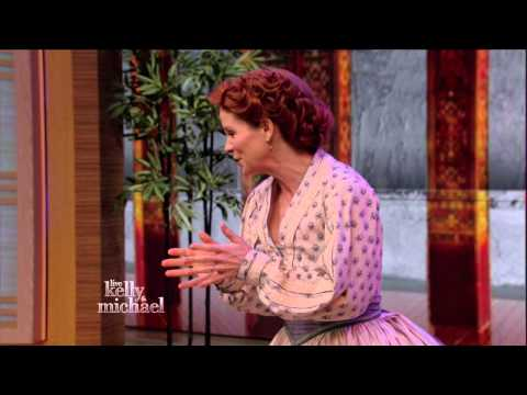 Kelli O'Hara and The King and I - Getting To Know You Live! With Kelly and Michael 2015 05 12