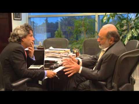 Entrevista realizada al Ing. Carlos Slim Helú publicada en el periódico El País.
